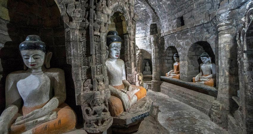 The Lost City of Mrauk U by Yangon Tour Operator in Myanmar